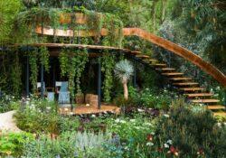 natürlich schönen Garten